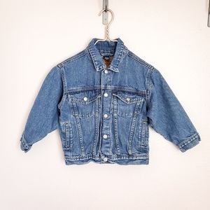 EUC VINTAGE inspired baby denim jacket size 5T